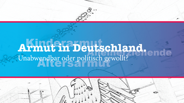 """Titelbild der Broschüre """"Armut in Deutschland"""""""