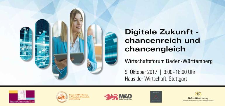 Programmbroschüre Wirtschaftsforum Baden-Württemberg