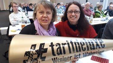 ver.di-Frauen auf der Tarifkonferenz Baden-Würtemberg