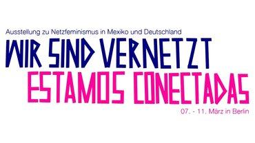 Wir sind vernetzt Ausstellung Logo