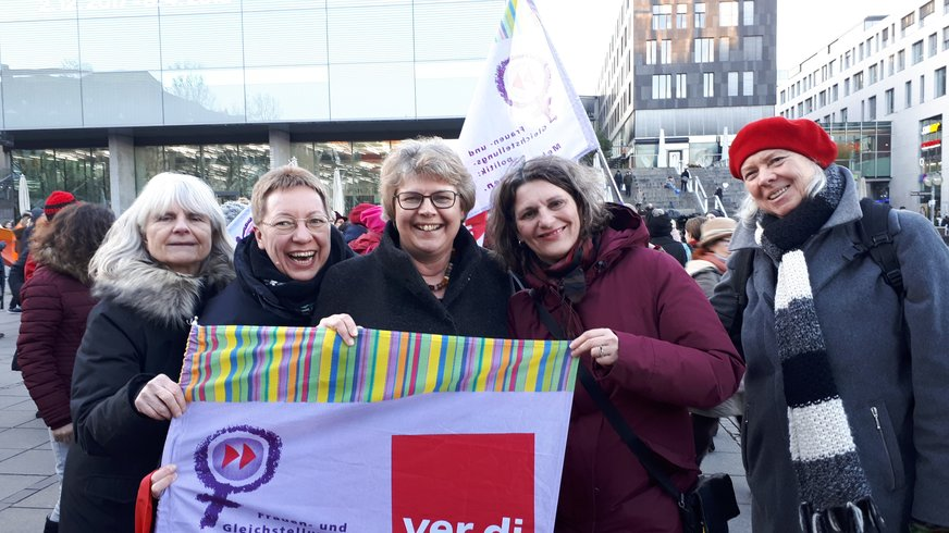 One Billion Rising 2018 in Stuttgart