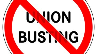 Union Busting stoppen!