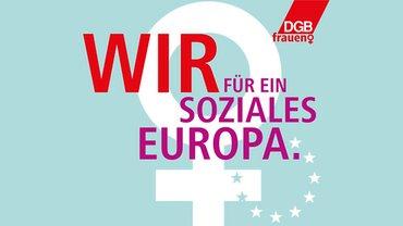DGB Frauen IFT Frauentag 2019 Logo
