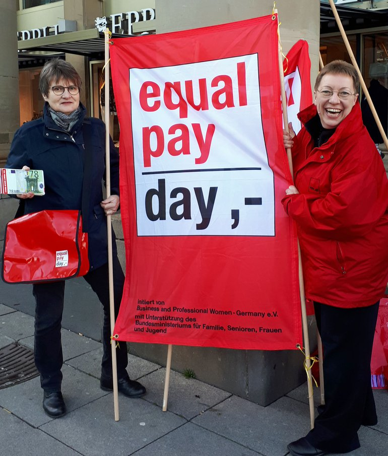 Equal Pay Day 2019 in Stuttgart