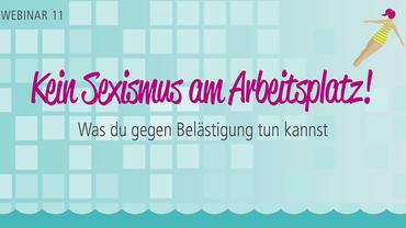 """Logo """"Sprungbrett"""": Webinar gegen Sexismus am Arbeitsplatz"""