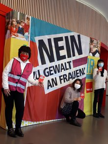 """Aktionstag """"Gegen Gewalt an Frauen"""""""